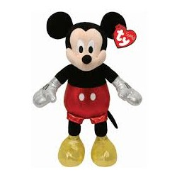 Pelúcia Bean Bag 20cm Sparkle Mickey Disney