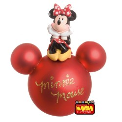 Bola de Natal Disney Minnie 8 cm