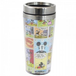 10021956 Copo Térmico com Tampa 450ml Comics Mickey Disney