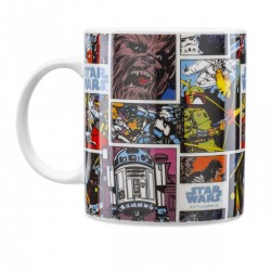 Caneca Comics Star Wars 310mL