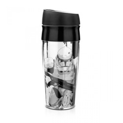 Copo com tampa Clone Star Wars 400mL