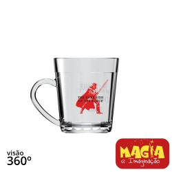 Caneca de Vidro Americano Darth Vader Star Wars Disney