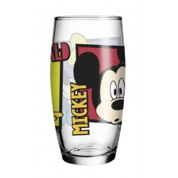 Copo de Vidro Caldereta Oca Friends Disney 430mL Mickey, Pateta e Donald