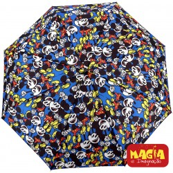 Guarda-Chuva Retrátil Mickey Blue Disney