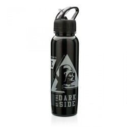 Garrafa Canudo Retrátil Darth Vader Star Wars 750mL