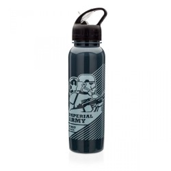 Garrafa Canudo Retrátil Imperial Army Star Wars 750mL