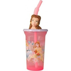 Copo Infantil 3D Princesas Disney 440ml