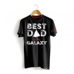 Camiseta Star Wars Best Dad in the Galaxy