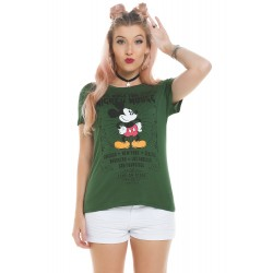 Blusa World Tour Mickey Verde