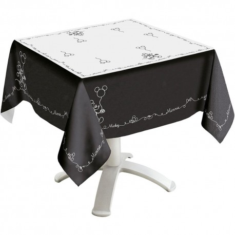Toalha de Mesa Black Mickey Disney