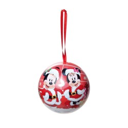 Bola de Lata Turma do Mickey 7cm Natal Disney