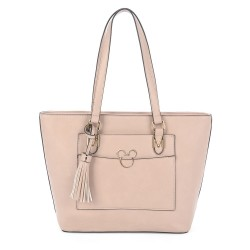 Bolsa Shopper Golden Mickey Nude