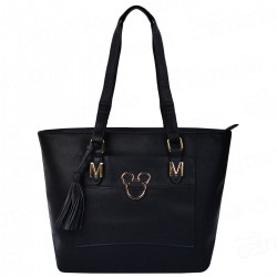 Bolsa Shopper Golden Mickey Preto