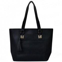 Bolsa Shopper MM Mickey Holes Preto