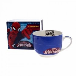 Caneca Sopa 650ml Spider Man Marvel