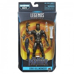 Boneco Erik Killmonger Build a Figure Pantera Negra Black Panther Legend Series