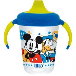 Caneca Antivazamento Mickey e Donald 207ml