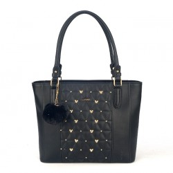 Bolsa Shopper Tacks Mickey -  Preto