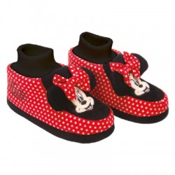 Pantufa Flat Minnie Set With 12 Pairs