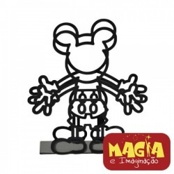 Porta Guardanapos de Metal Mickey Disney