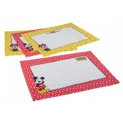 Jogo Americano Mickey e Minnie Dots Disney