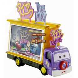 Tire Talky Miniatura Carros 2 Disney - Mattel