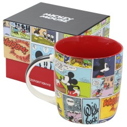 Caneca Comics Mickey Disney