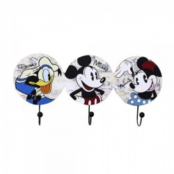 Pendurador com 3 Ganchos Mickey and Friends
