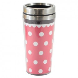 Copo Térmico com Tampa 450ml Classic Red Minnie Mouse Disney