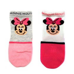 Meia Baby Minnie Mouse Disney