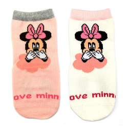 Meia Infantil Minnie Mouse Disney