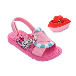 Sandália Infantil Minnie Mouse Shower Sand Disney