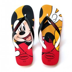 Chinelo Tira de Duas Cores Mickey Mouse Stylish Disney Havaianas Top