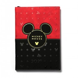 Agenda Mickey Mouse Head Elegance Anual A5 336 Páginas Disney