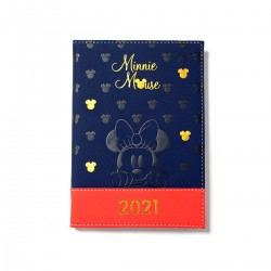 Agenda Minnie Mouse Supreme Anual A6 Pocket 336 Páginas Disney
