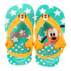 Chinelo Baby Star Pluto Turma do Mickey Disney Havaianas