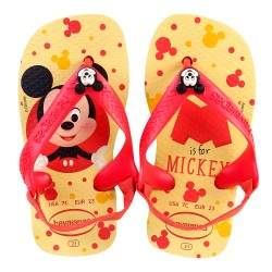 Chinelo Havaianas Infantil com Elástico Baby is for Mickey Disney