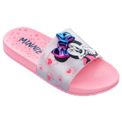 Chinelo Infantil Minnie Mouse Slide 3D Bow