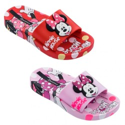 Chinelo Infantil Minnie Mouse Slide Poás