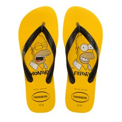 Chinelo The Simpsons Homer Fox Havaianas Top