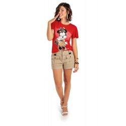 Blusa Dress Minnie Mouse Disney