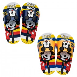 Chinelo Infantil Mickey Mouse Slide Stripes Disney
