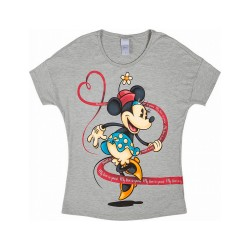 Blusa Mickey e Minnie My Love is Yours