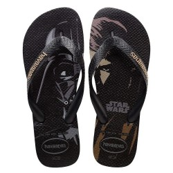 Chinelo Havaianas Star Wars Darth Vader e Luke Skywalker
