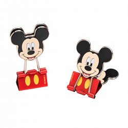 Binder Clip Mickey 25mm Disney
