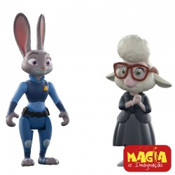Bonecos Judy Hopps e May Bellwether - Zootopia Disney