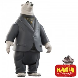 Bonecos Mr. Big e Kevin - Zootopia Disney