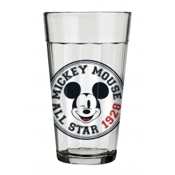 Copo de Vidro Americano Mickey and Friends 450mL All Star