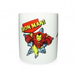 Caneca Disney Marvel Iron Man HQ - Canecas Disney Marvel