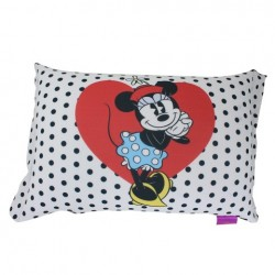 Almofada Micropérolas Red&Blue Hearts Minnie Disney